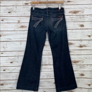 7FAM DOJO Jeans 7 for all mankind size 25